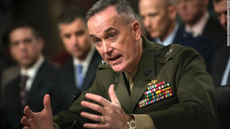 dunford north korea nuclear