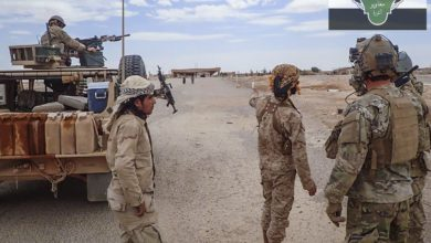 MaT and Coalition forces in Syra