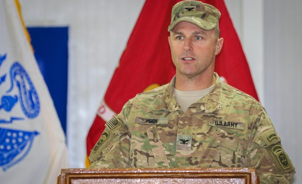 US Army Colonel Pat Work