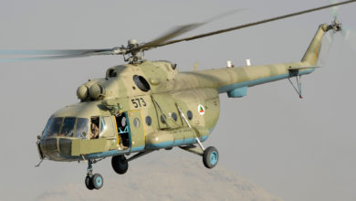 Afghan National Army Air Corps Mi-17 helicopte