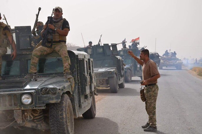 Iraqi troops go to Rawa and Qaim