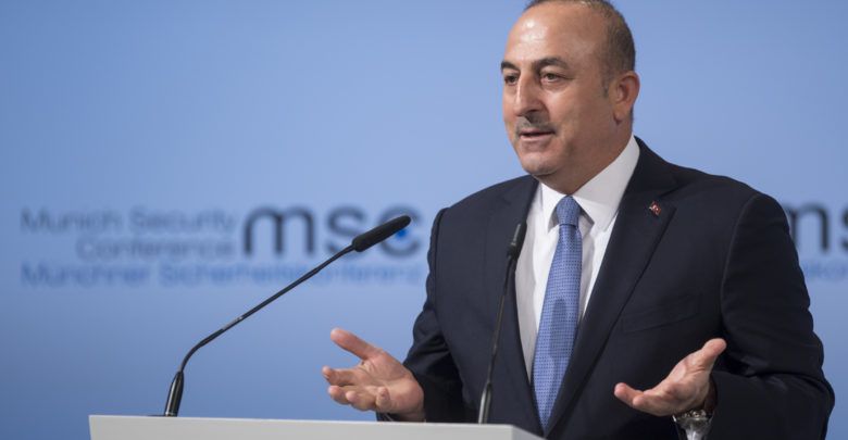 Mevlut Cavusoglu, Turkey's Minister for Foreign Affairs