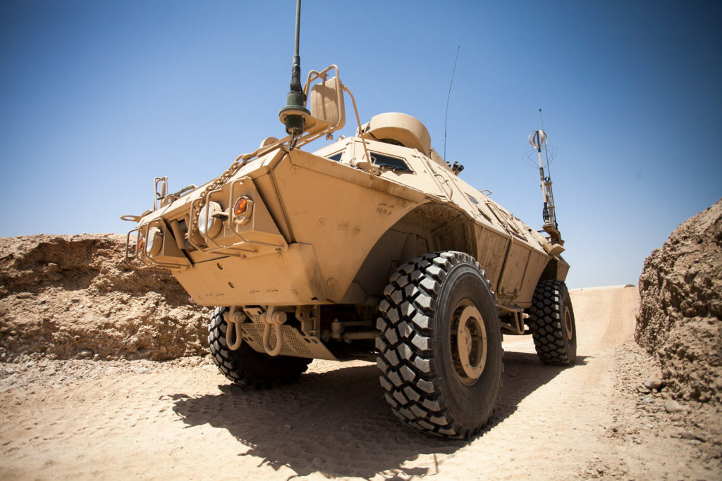 Afghan Mobile Strike Force Vehicle