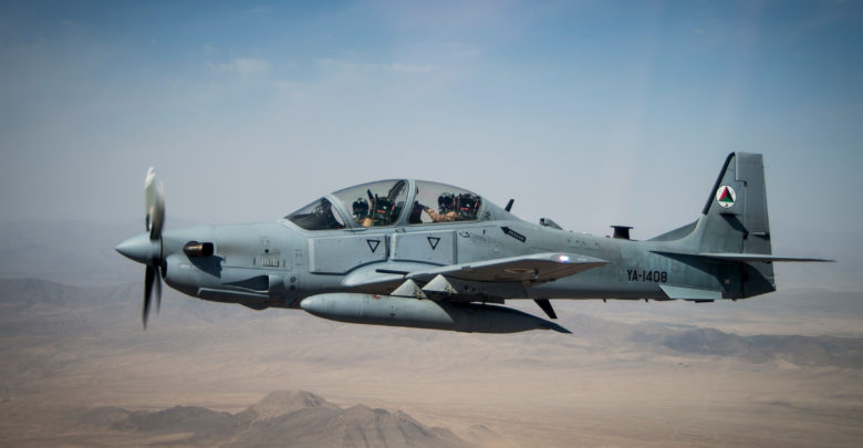 A-29s Super Tucano over Afghanistan