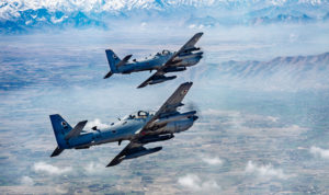 A-29 Super Tucanos over Afghanistan