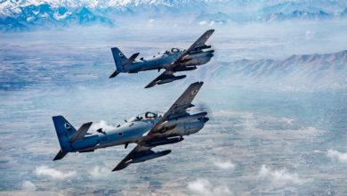 A-29 Super Tucanos over Afghanistan