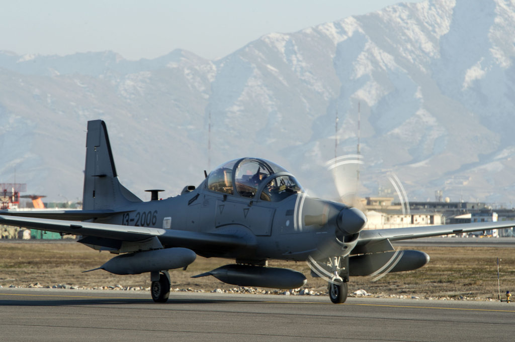 A-29 Super Tucano, Afghanistan