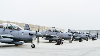 A-29 Super Tucanos arrive in Afghanistan