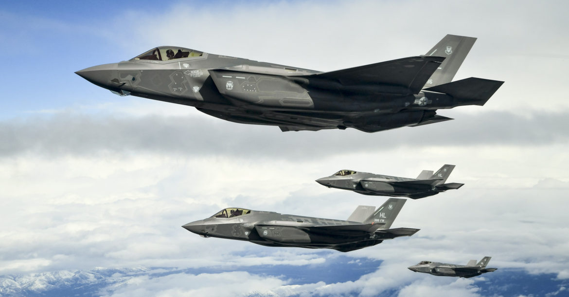 F-35A formation flight