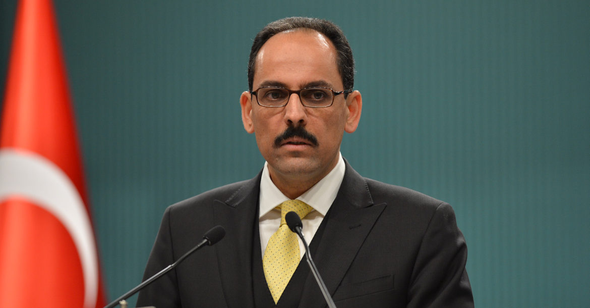 Ibrahim Kalin, Presidential Spokesperson and Special Adviser to the President of Turkey