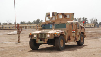 Iraqi Security Forces Humvee