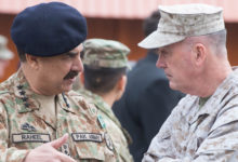 akistan's General Raheel Sharif, and US Marine General Joseph Dunford