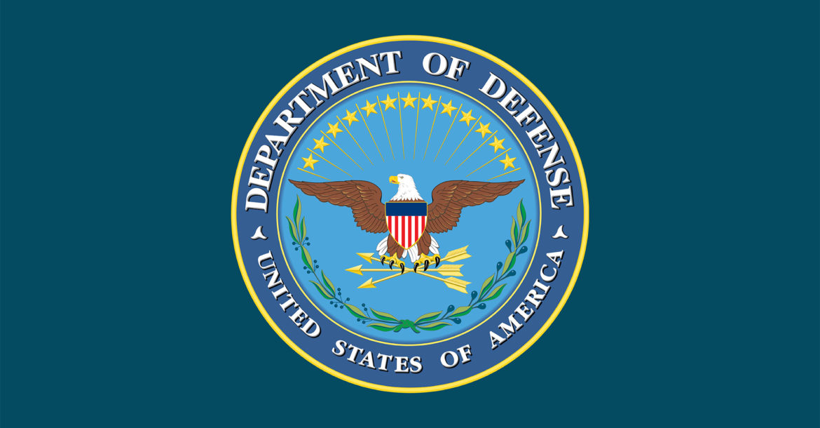 US Defense Dept seal
