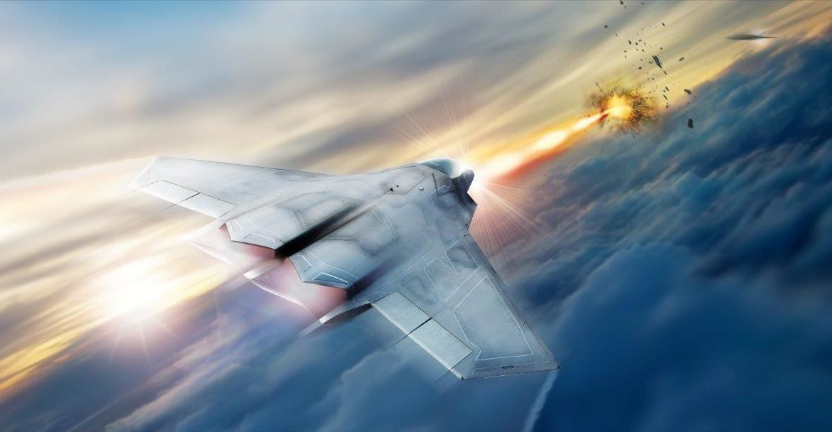 High energy laser aircraft weapon