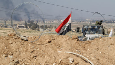 Explosions rock West Mosul during Iraqi offensive
