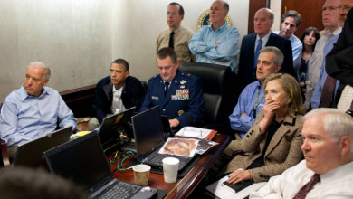 President Barack Obama watches mission against Osama Bin Laden