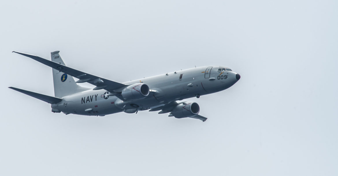 P-8A Poseidon of the US Navy
