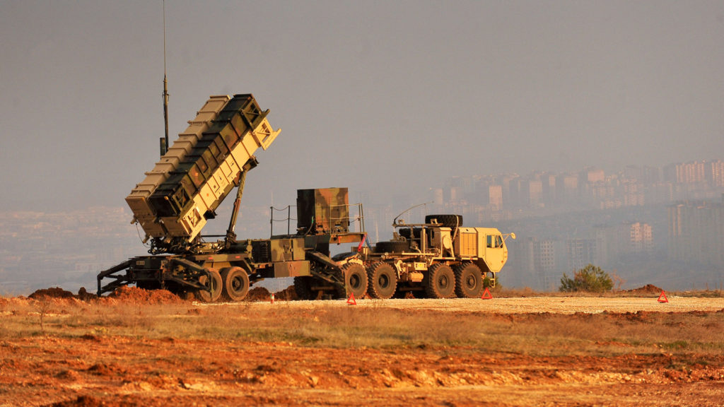 Patriot missiles deployed in Turkey