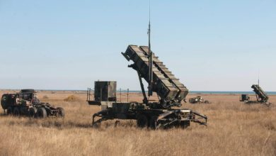 Patriot air defense missile systems in Romania