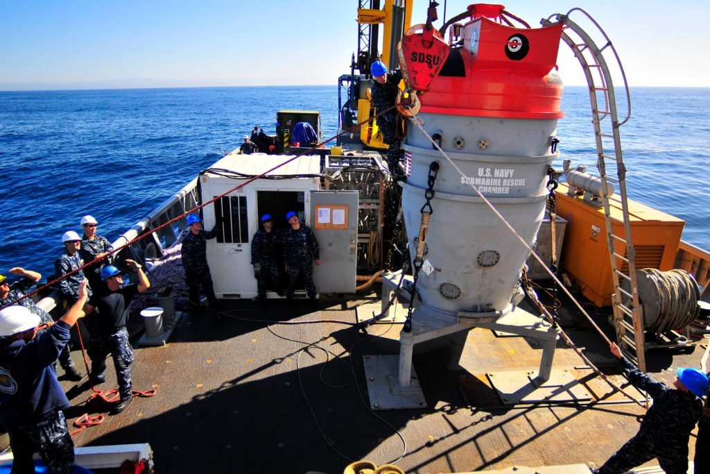 Focus Shifts To Undersea Search For Missing Argentina