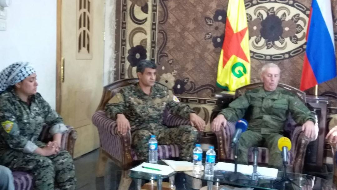 YPG press conference on Deir Ezzor