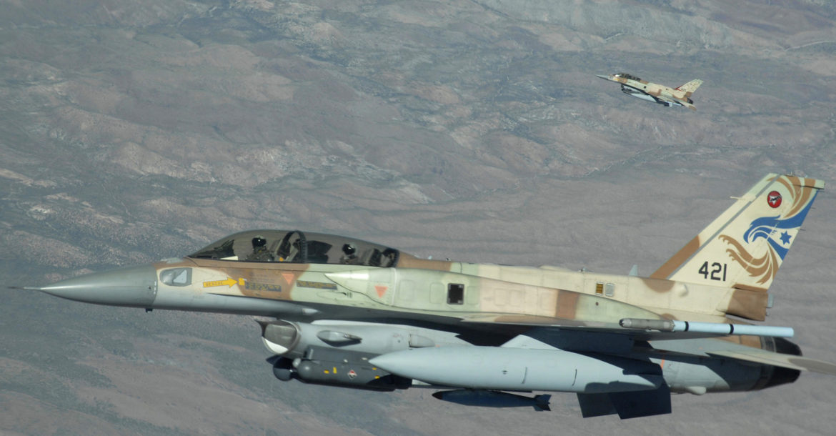 Israel Air Force F-16 jets