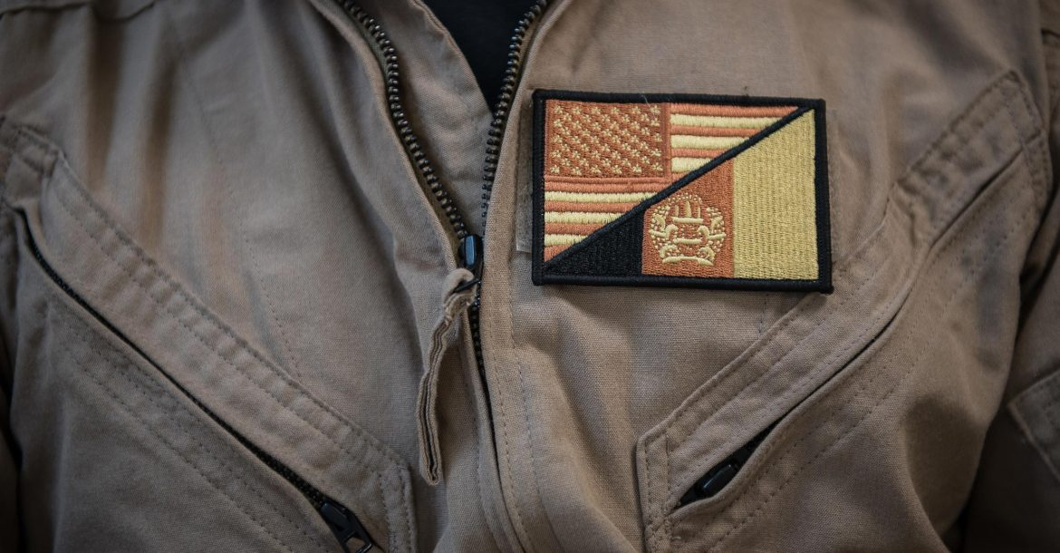 US-Afghan morale patch