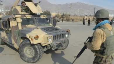 Afghan troops at Kabul spy school after ISIS attack