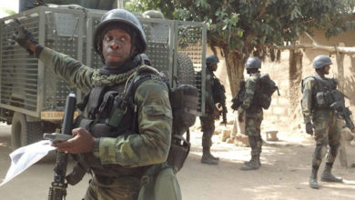 Cameroon military personnel
