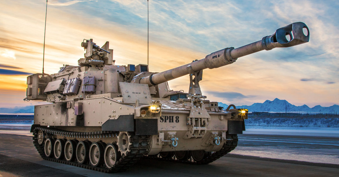 US Army M109A7 Paladin howitzer