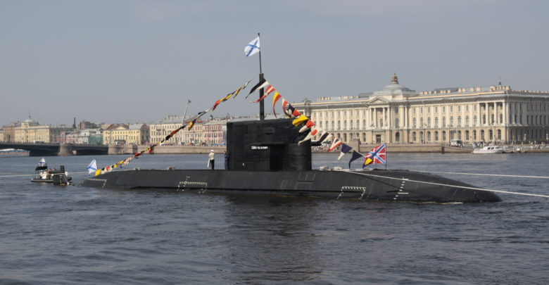 Russian St. Petersburg submarine