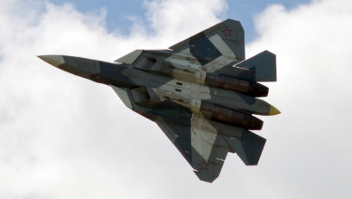 Russian Air Force Sukhoi Su-57