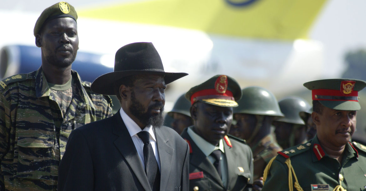 Salva Kiir, president of South Sudan.