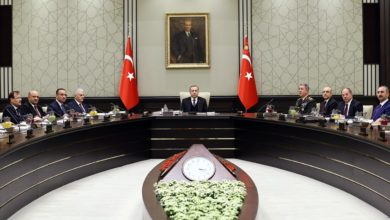 Turkey National Security Council meeting