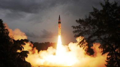 India's nuclear capable Agni-5 ICBM