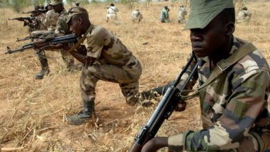 Niger Army 322nd Parachute Regiment
