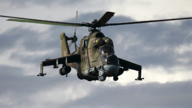 Russian Air Force Mil Mi-24P