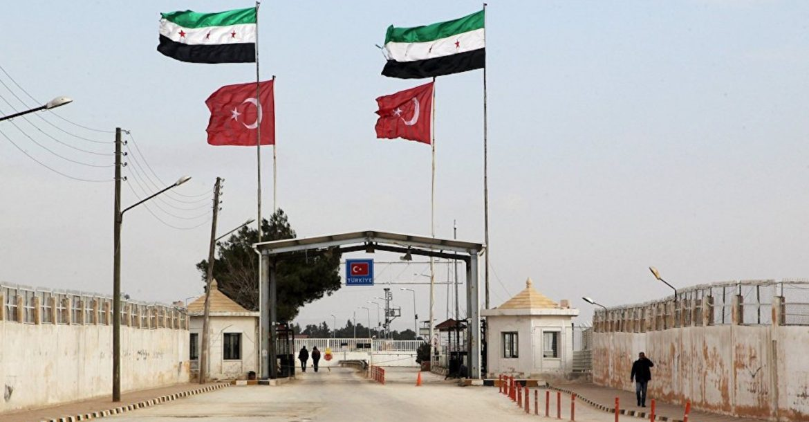 Border crossing between Syria and Turkey