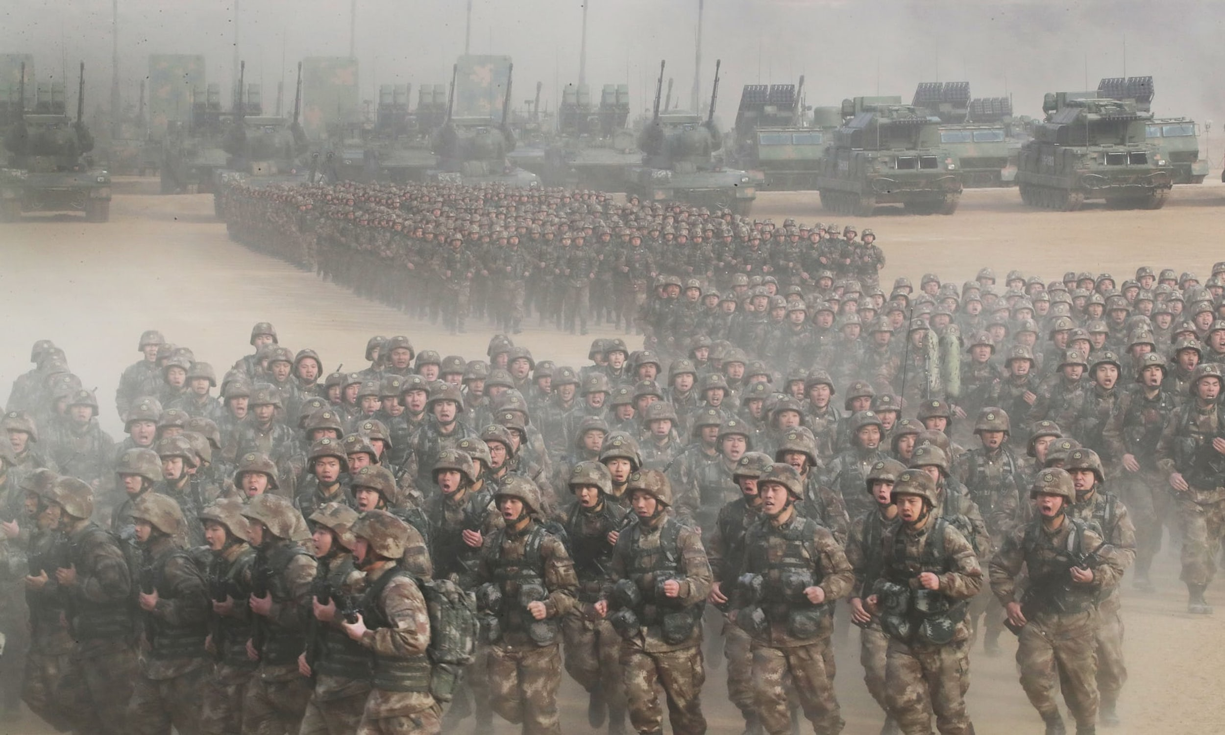 Army Of Us: China To Boost Defense Spending By 8.1% In 2018