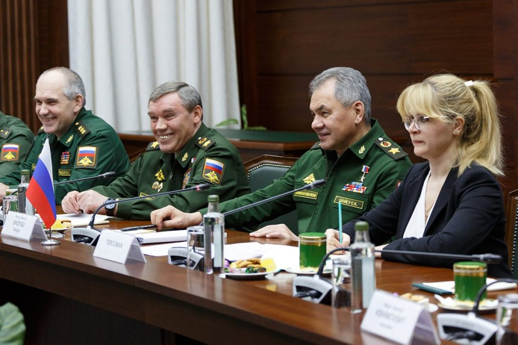 Russian and Turkey military chiefs talk about Efrin, Syria