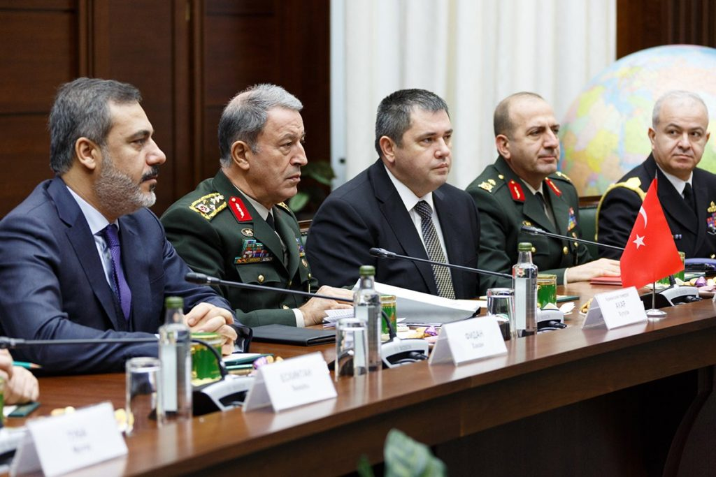 Turkish and Russia military chiefs talk about Efrin, Syria