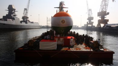 Indian Navy Scorpene-class submarine Karanj