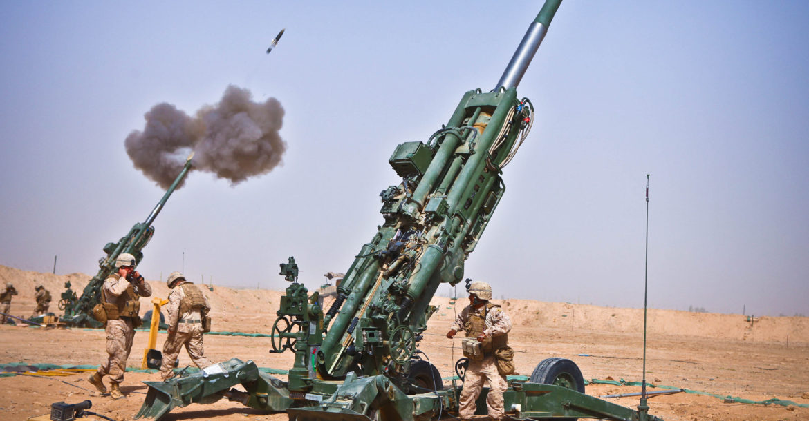 Raytheon wins $95 million contract for Excalibur precision