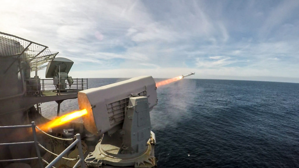 RIM-116 Rolling Airframe Missile Weapons System
