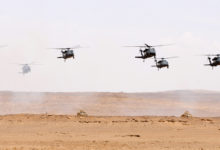 UH-60 Black Hawk helicopters in Saudi Arabia
