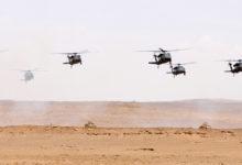 UH-60 Black Hawk helicopters in Saudi Arabia