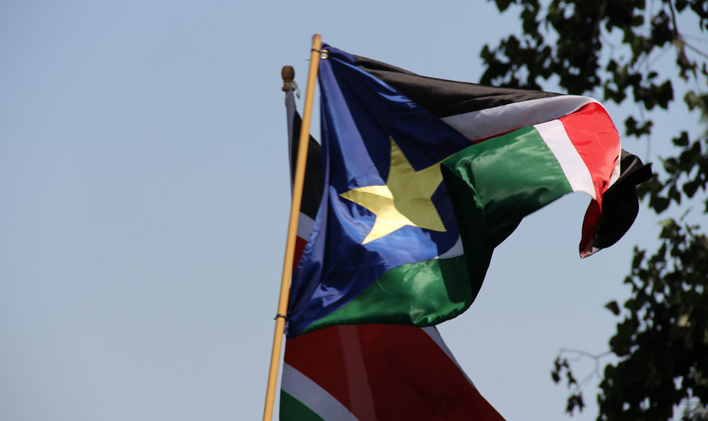 Celebration of independence in South Sudan