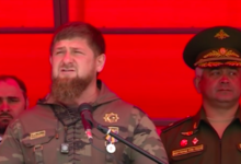 Chechen military police have returned from deployment to Syria