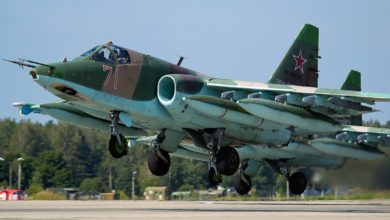 Russian Air Force Sukhoi Su-25