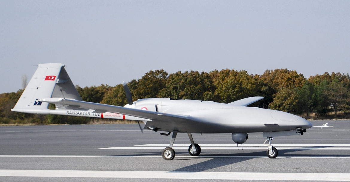 Turkey's Bayraktar TB2 tactical drone